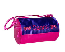 Bows Duffle Bag Purple