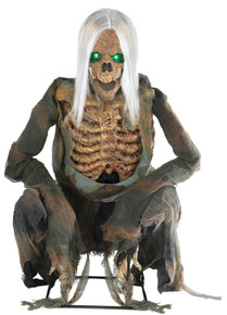 Crouching Bones Animated Prop