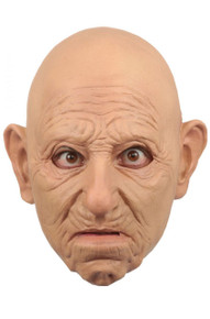 Old Man Mask with a slight frown