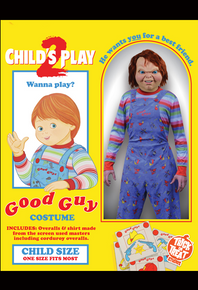 Child's Play 2 Licensed Good Guy Costume Kids One Size