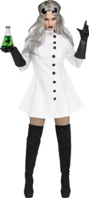 Mad Scientist Costume Dress, Gloves, Goggles