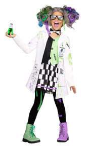Mad Scientist Costume Set for Girls