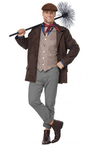 Chimney Sweep Mens Adult Costume
