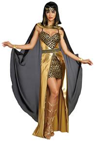 Cleopatra Womens Gold Dress
