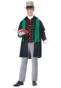 Holiday Caroler Man Dickens