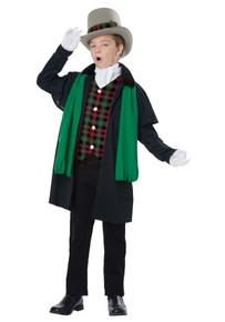 Holiday Caroler Boy Kid Costume