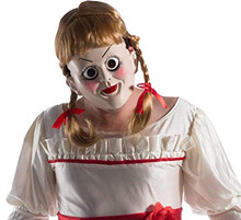 Annabelle Creation The Conjuring Mask and Wig