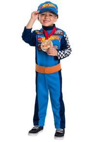 Race Car Drive Hot Wheel Licensed Childs Costume