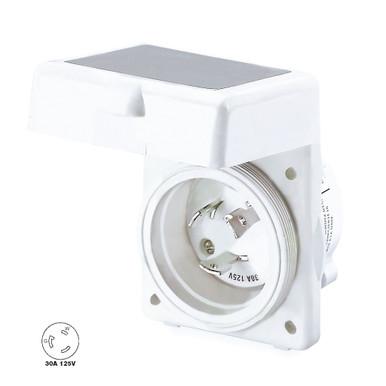 Hubbell 30 Amp 125v Marine Rv Power Cord Twist Lock