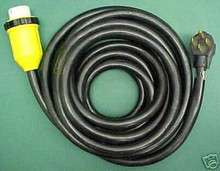 RV Power Cord 25' 50 amp with Marinco Connector Detachable
