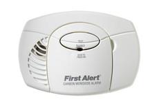 First Alert Carbon Monoxide CO Detector Alarm Battery Powered