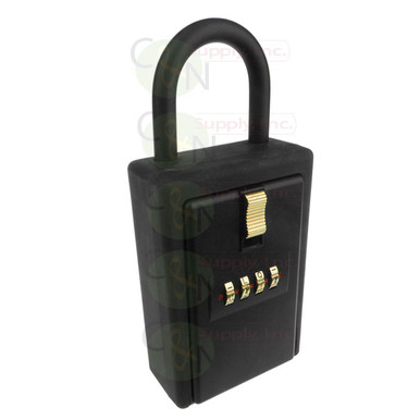 Extra Large 4 Letter Combination Key Card Storage Lock Box