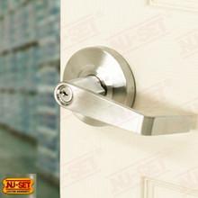 Commercial Grade 2 Storeroom Lock with Schlage SC4 Keyway