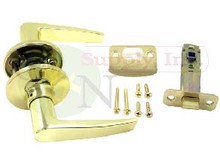 Polished Brass Passage Lever Set - Brand New!!