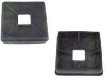2 Brand New Bumper End Caps