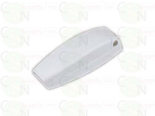 5 Baggage Door Clips for RV / Camper, White