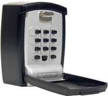 KeyGuard Pro Wall Mount Key Storage Lock Box Push Button Lockbox for Seniors, Medical Emergency