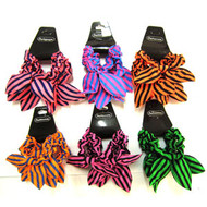 BOW SCRUNCHIE 4PCS/CD