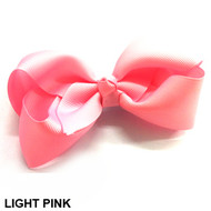 CLIP BOW LIGHT PINK