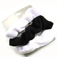 (QSB2629) KNIT SCRUNCHIE 3PCS