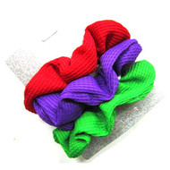 (QSR2629) KNIT SCRUNCHIE 3PCS