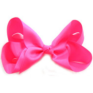 CLIP BOW NEON PINK