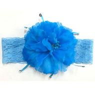 FLOWER LACE HEADWRAP