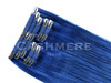 Blue Cashmere Hair Colors clip in extensions