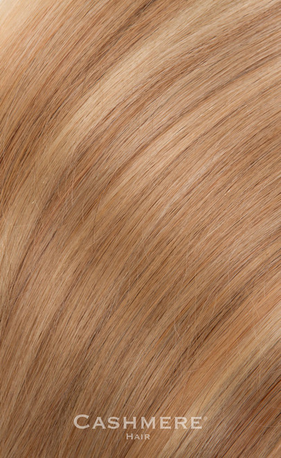 Golden Blonde Cashmere Hair Clip In Hair Extension