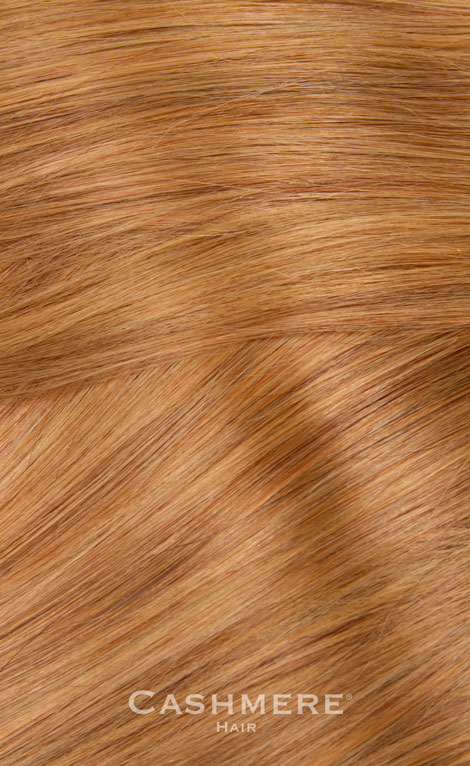 One piece hair extension copper blonde 27 cashmere hair one piece hair extension copper pmusecretfo Images
