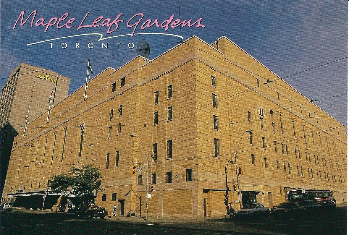 Maple Leaf Gardens (T-591) - Stadium Postcards