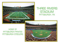 Three Rivers Stadium (C74. green)