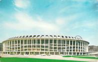 Busch Memorial Stadium (#A1233 (green grass, yellow signs))