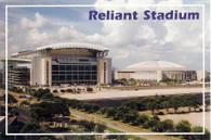 Reliant Stadium & Reliant Astrodome (No# Jandee Cards-continental)