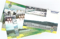 6 Scarce Ecuador Stadium Postcards (GRB-139 thru GRB-144)