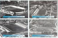 4 Different 1971 Pan American Games Stadiums (GRB-545 thru GRB-548)