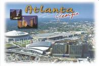 Philips Arena & Georgia Dome (PC46-ATL 184)