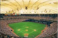 Metrodome (1992 Stadium Views-Metrodome)