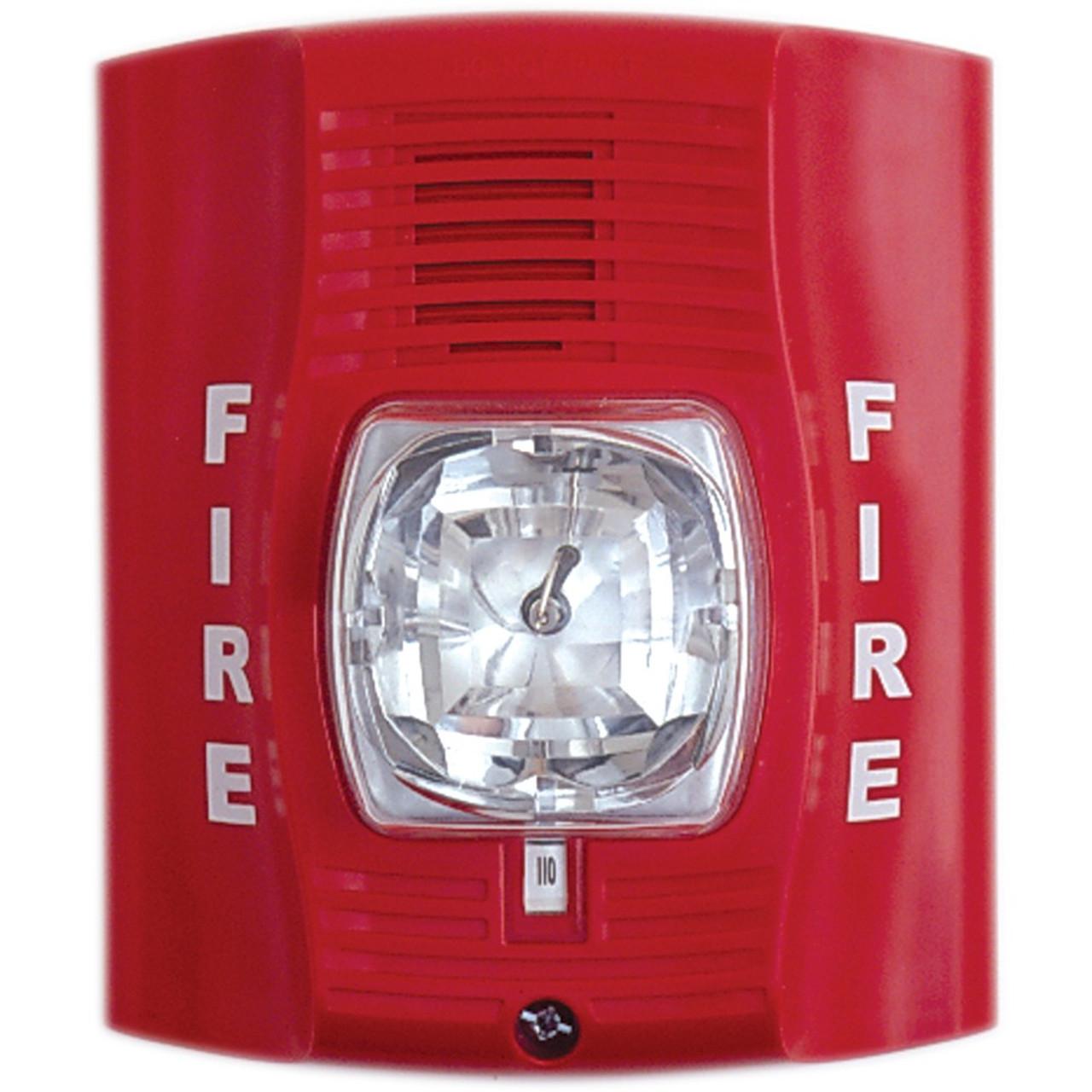 Fire Alarm Strobe Hidden Camera W 4g Cellular Remote