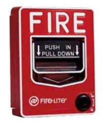 Fire Alarm Pull Station Hidden Camera w/ DVR & 90-Day Battery