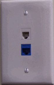 Telephone Jack Hidden Camera