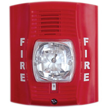 Fire Alarm Strobe Light Hidden Camera w/ DVR & 30-Day Battery