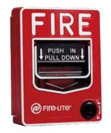 Fire Alarm Pull Station Hidden Camera w/ DVR & 90-Day Battery
