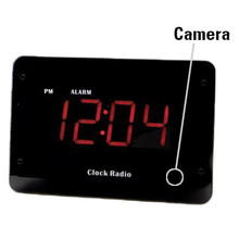 Night Vision Clock Radio Spy Camera DVR