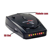 Radar Detector Hidden Camera w/ DVR