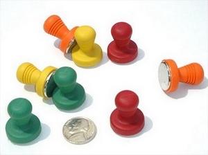 Rare Earth Pushpin Cap Magnets