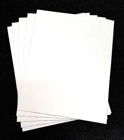 20 mil white magnet sheets