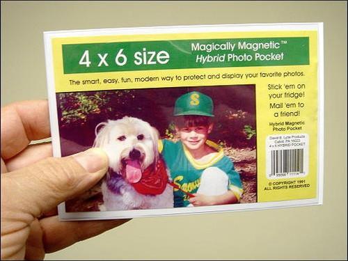 Hybrid Magnetic Photo Frames