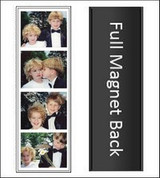 Soft Sleeve Magnetic Photo Booth Strip picture frame