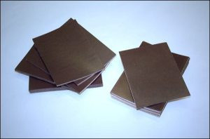 Wallet Size Self Adhesive Magnet - 15 mil